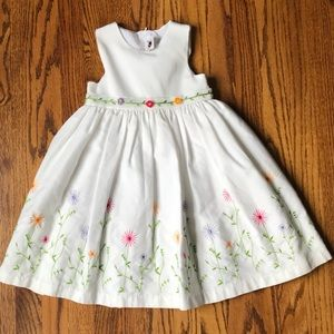 Other - Embroidered Summer Goodlad Dress